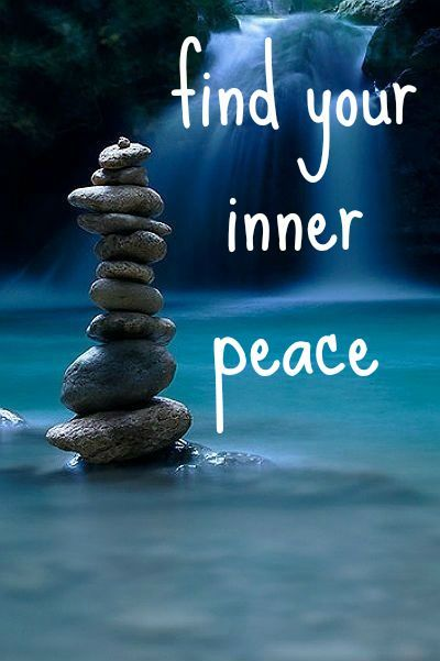 """""""find your inner peace"""" self made typography #typography # ..."""