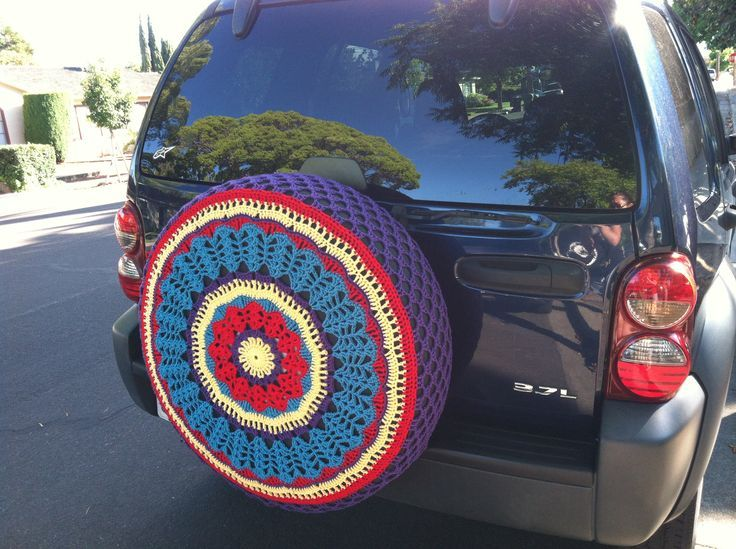 Tire cover crochet pattern tire cover for my jeep to feel crafts sciox Images