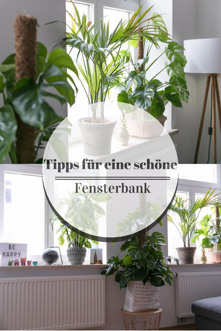 fensterbank deko: tipps für eine schöne fensterbank / pflanzen in, Gartengerate ideen