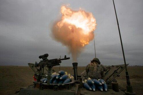 Stryker mortar