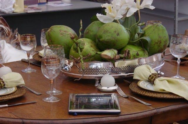 Mesa de Natal: Um toque de Brasil!/ Blog Eliane Sampaio Interiores