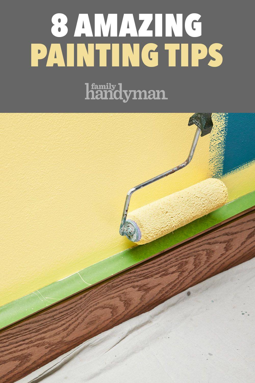 8 Great Painting Tips Painting Tips Painting Trim Diy Home Repair