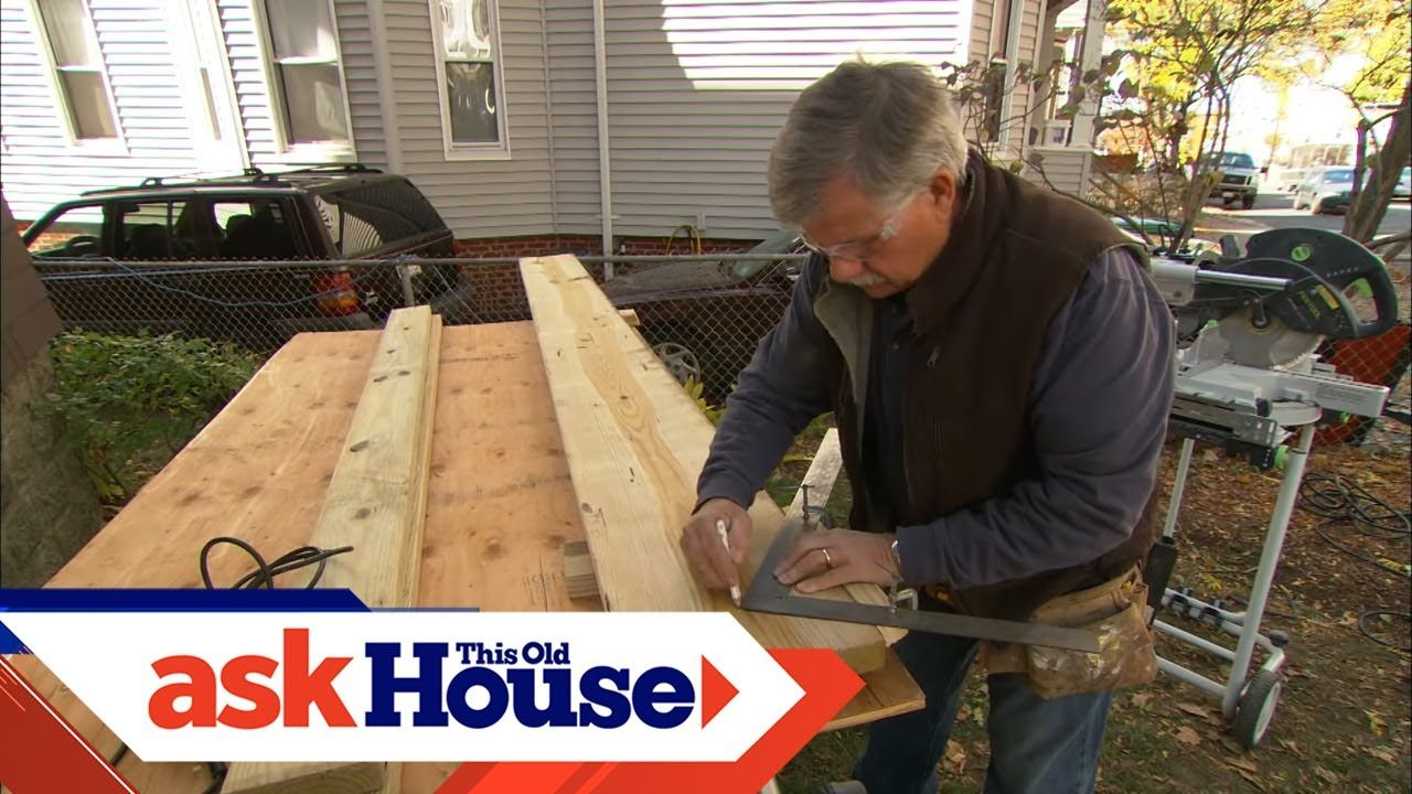 How to Build Porch Stairs Ask This Old House YouTube