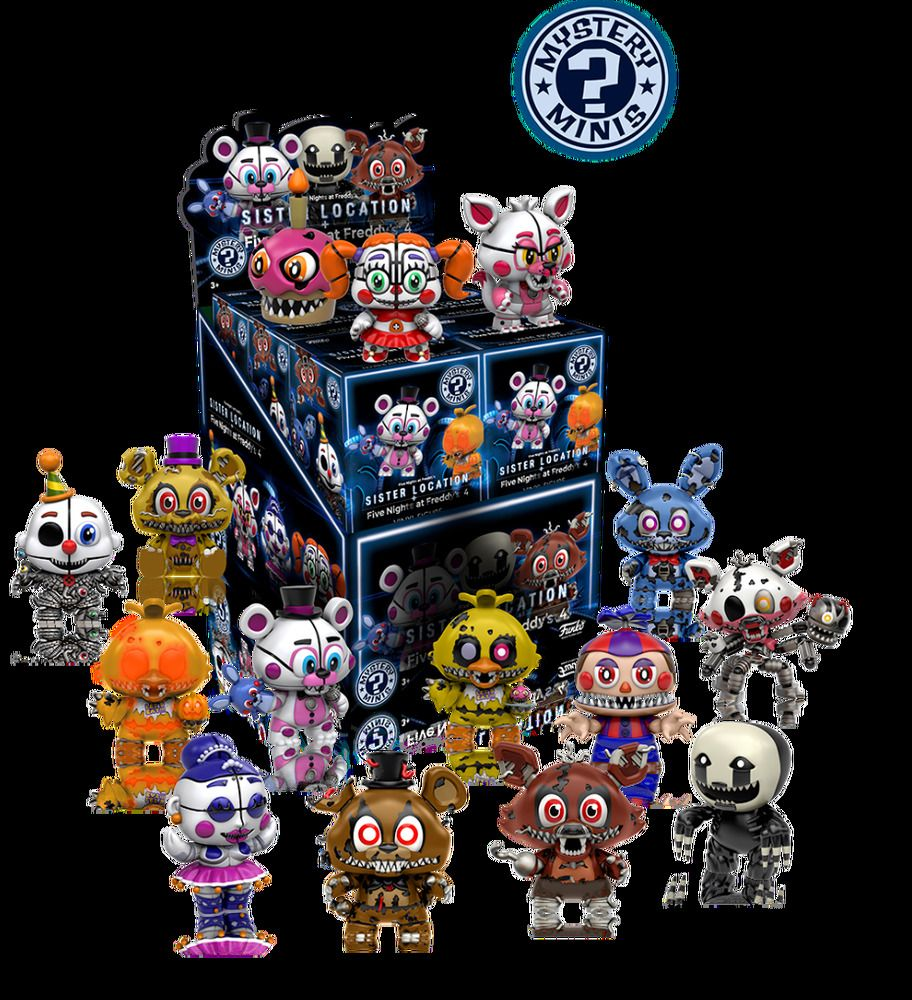 Foxy Five nights at Freddy/'s 4  Série 2 FUNKO Minis Mystery Sister Location