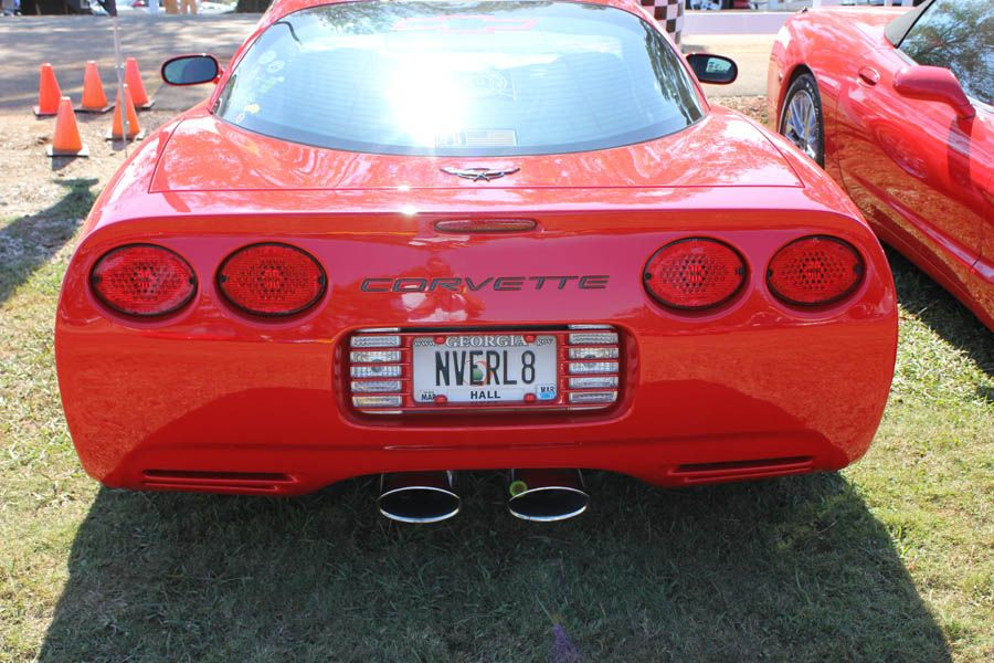 Never Late Corvette Vanity Plates Vanity License