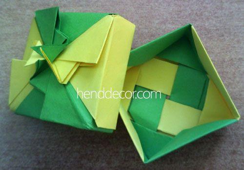 Оригами своими руками упаковка для подарка