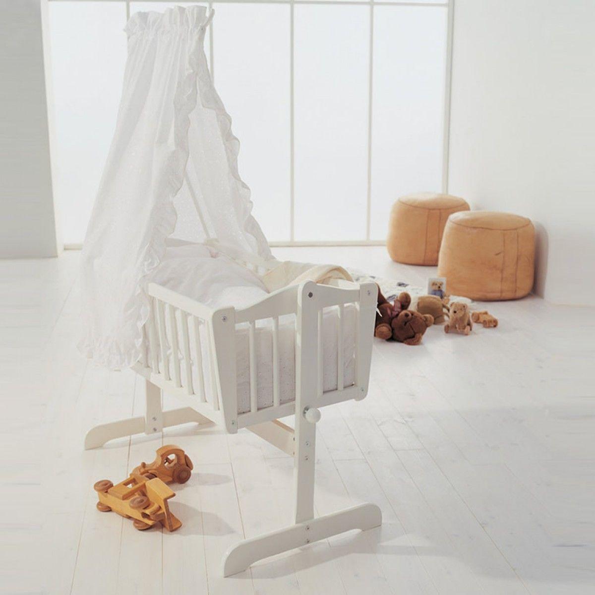 Baby cribs rocking -