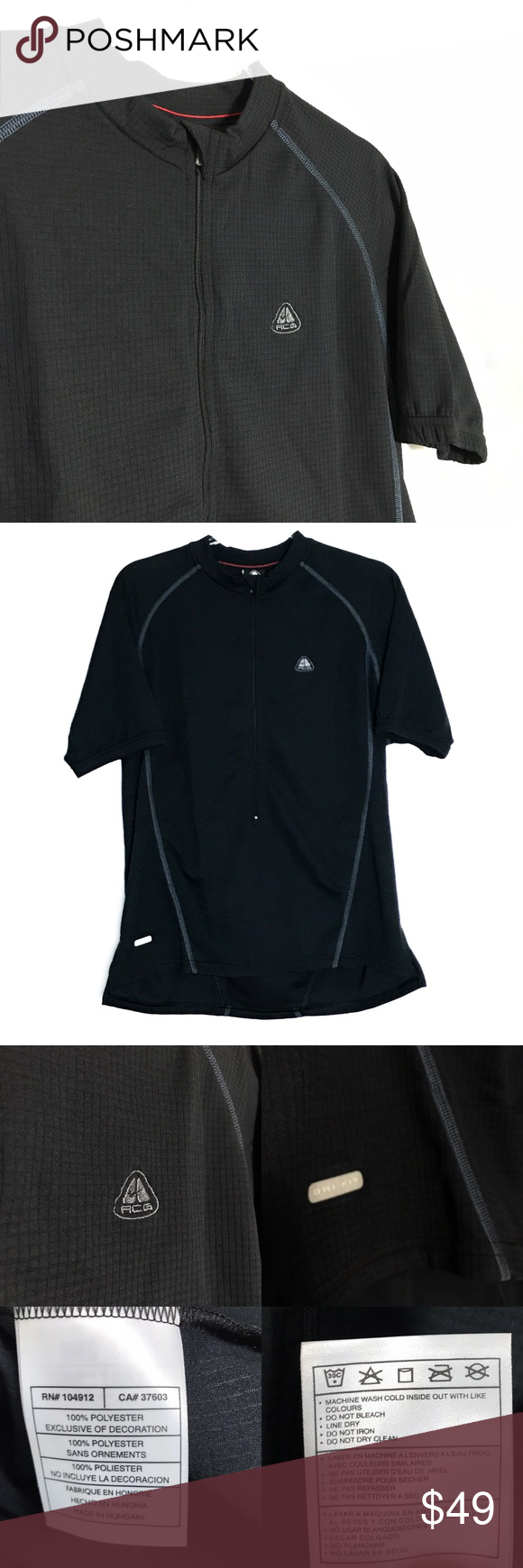 8b443e15c Nike ACG Dri-Fit Short Sleeve Cycling Jersey  310 ▫ New with tags NWT Nike ACG  apparel and accessories are designed for outdoor athletes who demand ...