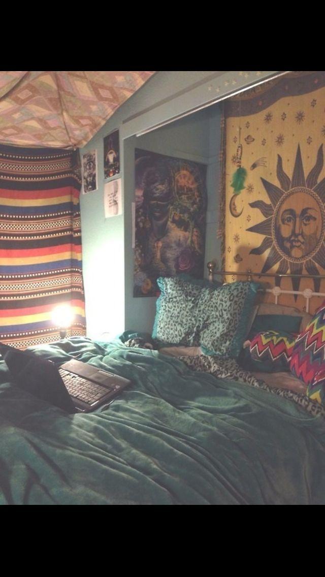 Tumblr Bedroomsu0026lt;3 Hippy Bedroom, Bedroom Inspo, Home Bedroom, Bedroom  Ideas,
