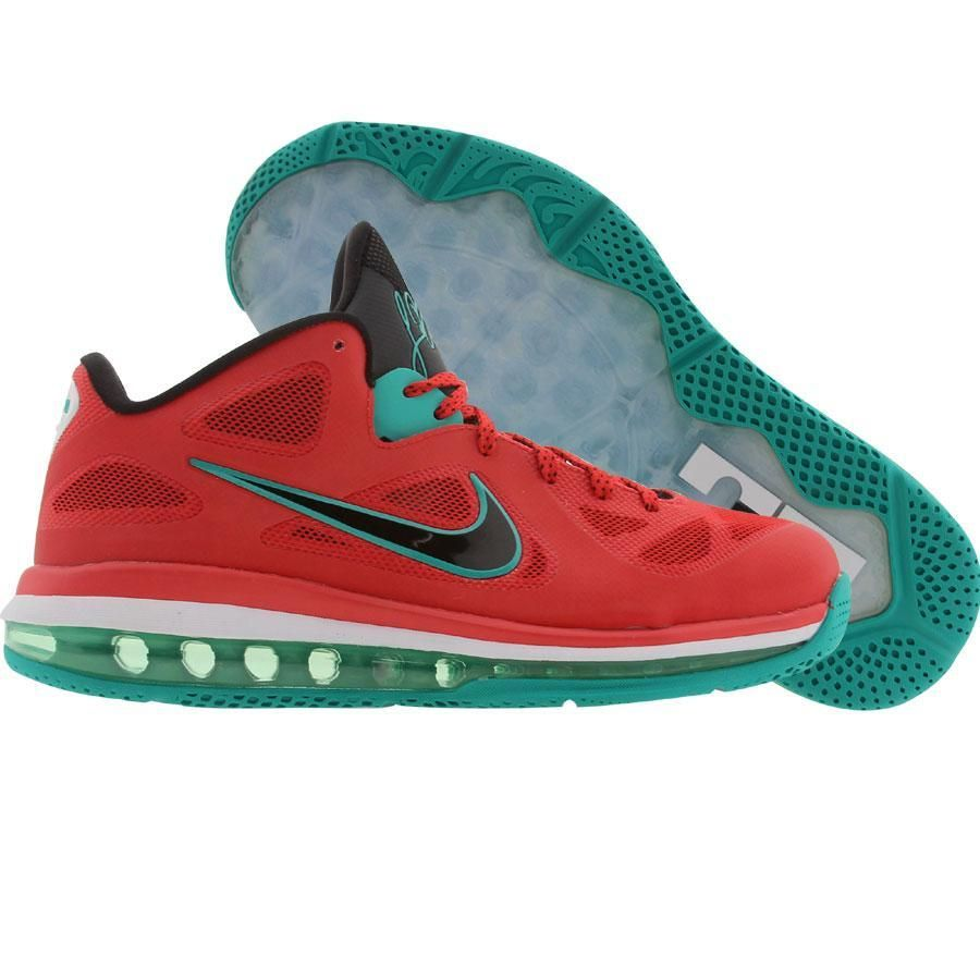 f11f4d97083 Nike LeBron 9 Low - Liverpool (action red   black   white   new green)  510811-601 -  149.99