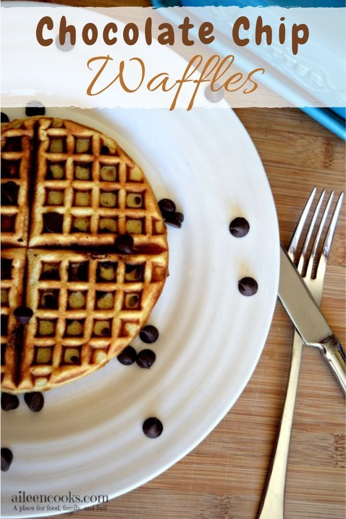 Chocolate Chip Waffles Are you looking for a yummy chocolate chip waffles recipe? Keep reading for a tasty recipe that shows you the easiest way to make waffles!