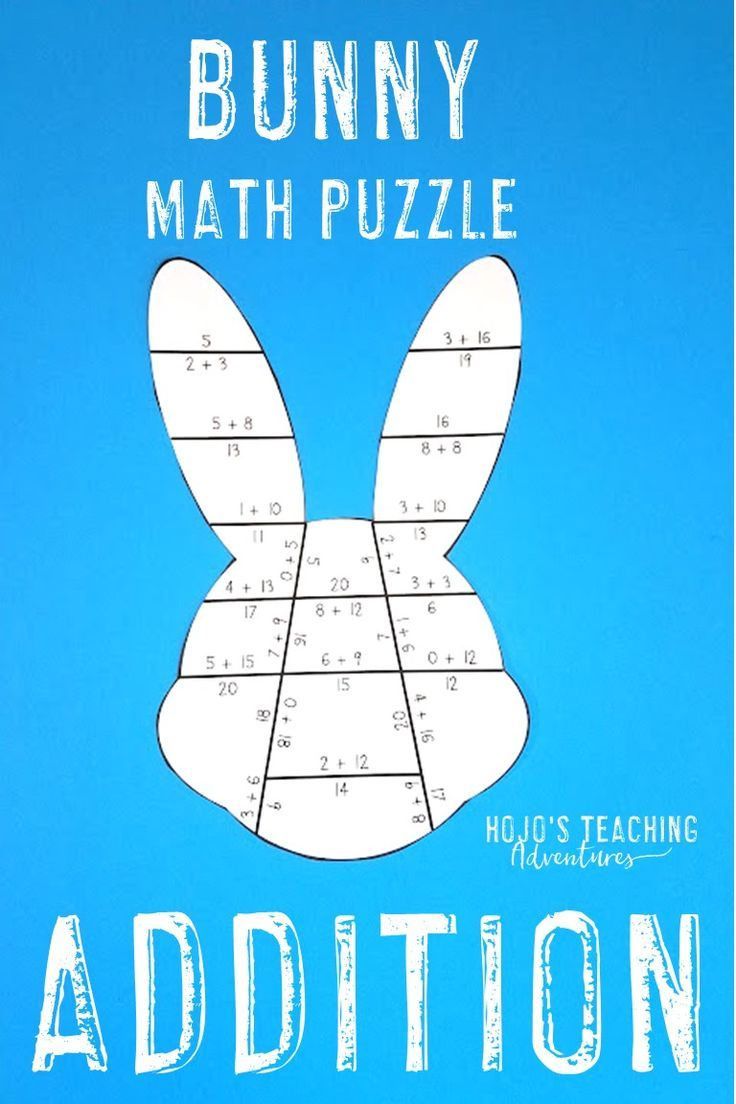 Easter Math Games | Spring Math Centers | FUN Addition Spring ...