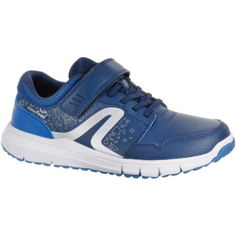 7a295d93239547 Chaussures marche sportive enfant Protect 140 marine NEWFEEL ...