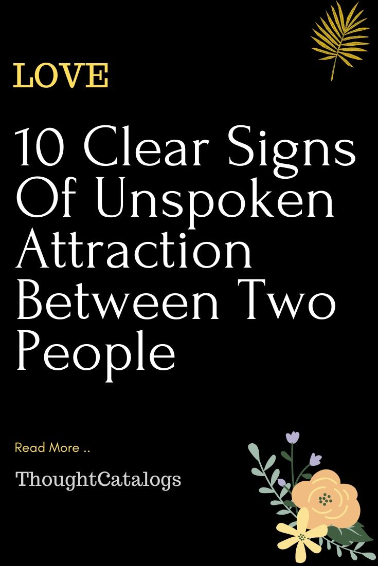 Unspoken love signs