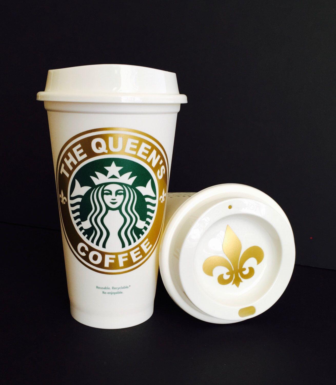 The Queen's Coffee Starbucks Coffee Travel Mug Tumbler