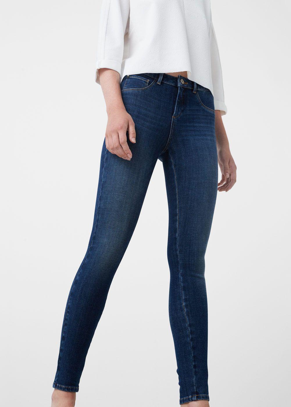 Jeans skinny push-up irina - Mujer   Mango   Jeans, Skinny Jeans ... 04acbcef447c