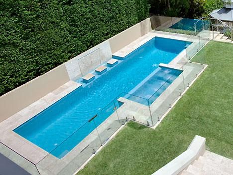 Lap Pool With Spa And Fountain Lap Pool Designs Lap Pools Backyard Pools Backyard Inground