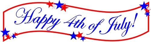 4th of july closed. Happy th banner images