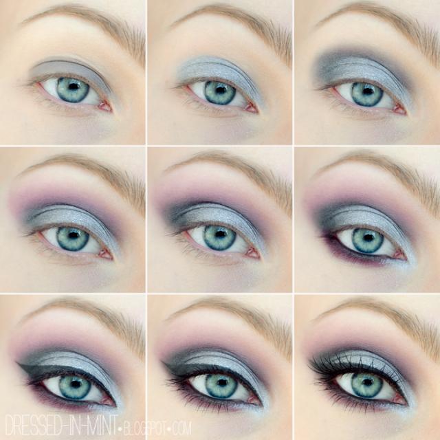 Professional & Glamorous Eye Makeup Tutorials | Blue eyes and Makeup