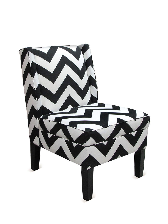 Chevron wing chairs - Chevron Wingback Chair