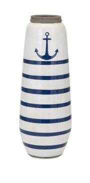 Anchor Large Handpainted Vase