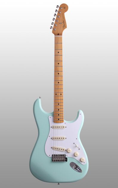 The Fender Classic '50s Strat offers original sound and feel. This vintage-styled guitar features a one-piece Maple neck and original spec AlNiCo pickups.