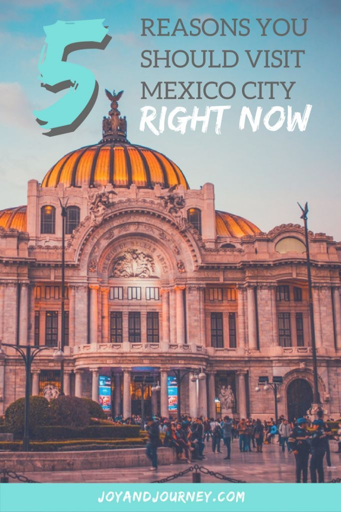 Top 5 Reasons You Should Visit Mexico City RIGHT NOW