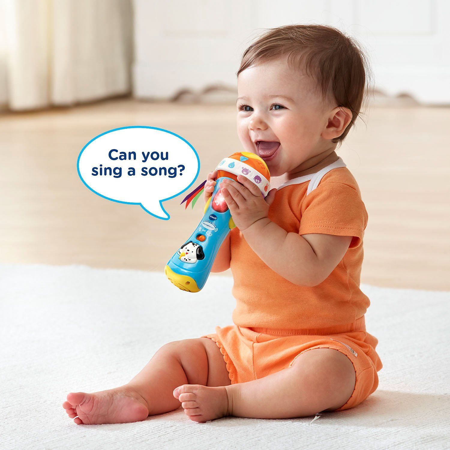 VTech Baby Babble and Rattle Microphone -- $11.1 #gifts # ...