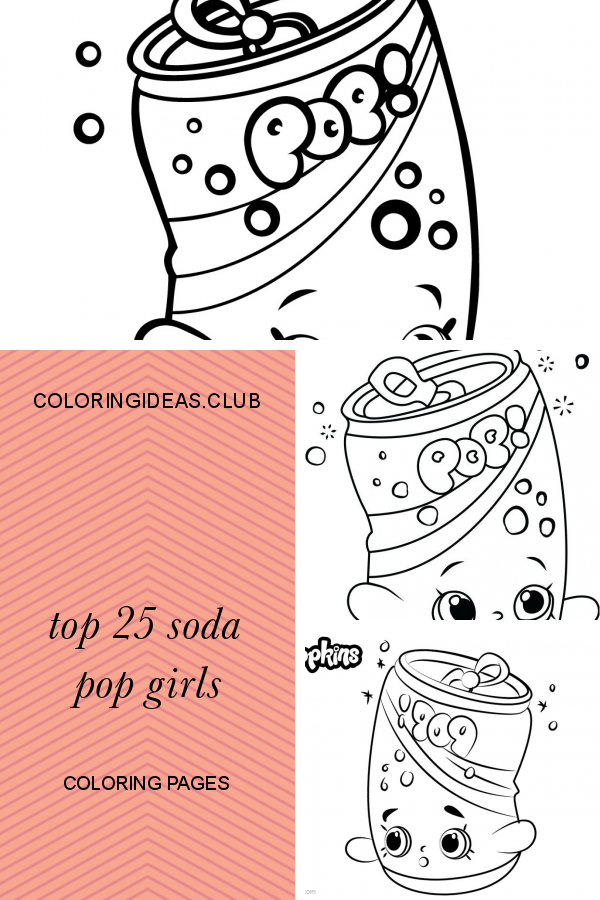 Top 25 Soda Pop Girls Coloring Pages Coloring Pages For Girls Coloring Pages Shopkins Colouring Pages