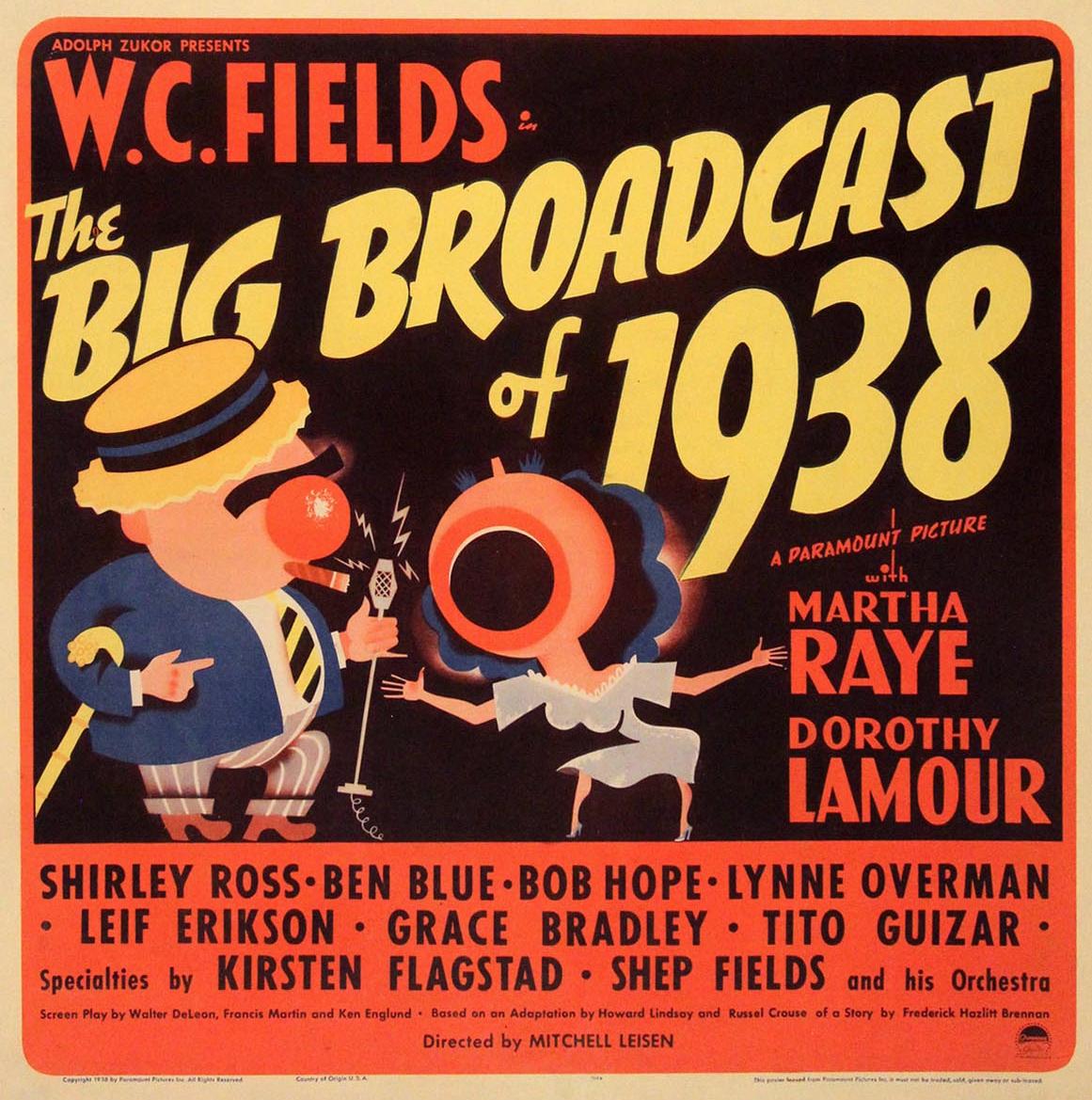 The Big Broadcast Of 1938 - W. C. Fields