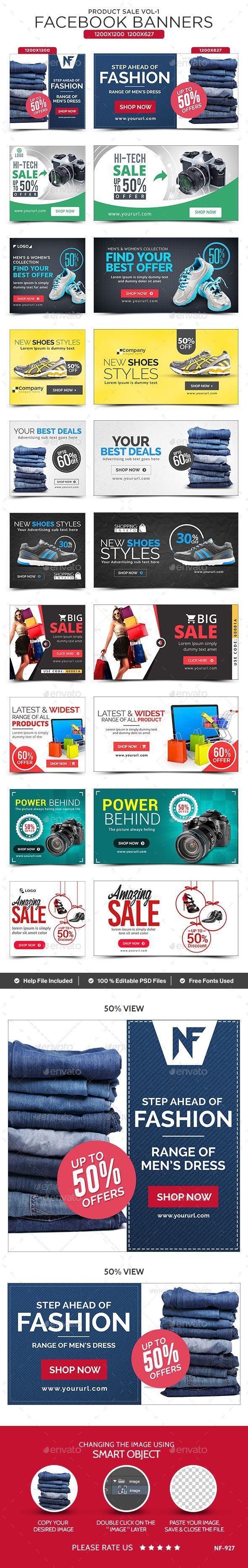 Product Sale Facebook Banners - 10 Designs | Ideas for Design ...