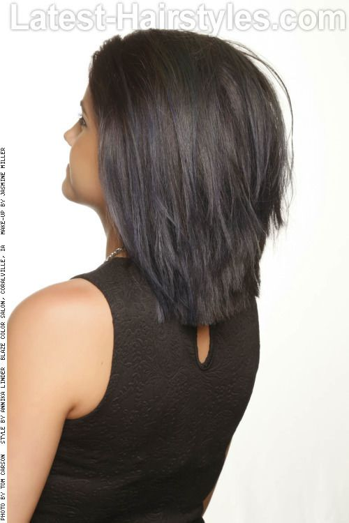hair back view styles 28 hairstyles for medium length hair popular for 8458