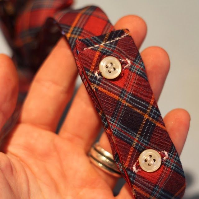 Turning Two Dated Old Ties Into One Reversible Bow Tie