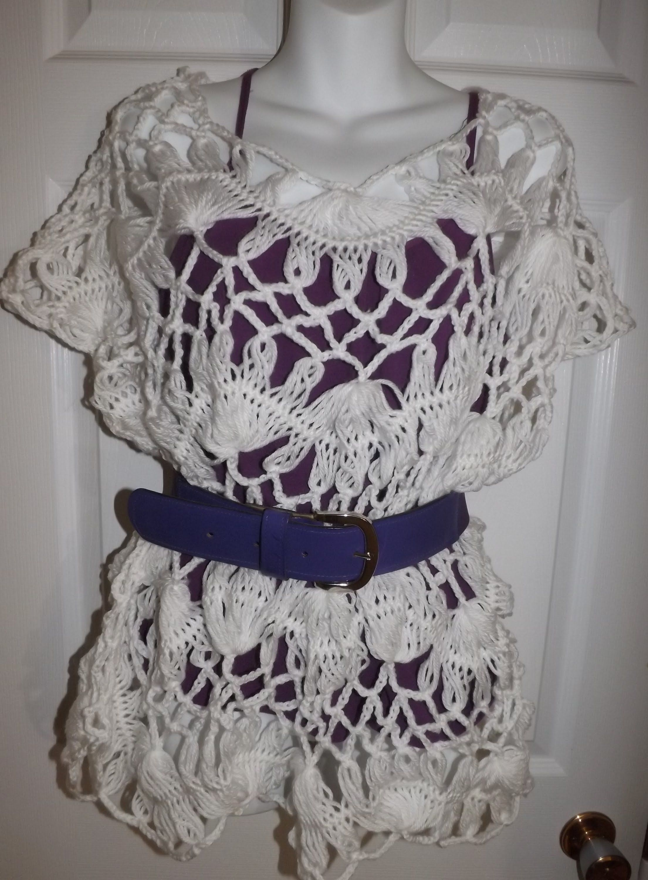 Hairpin lace summer blouse part 3 crochethairpince crochet stitches bankloansurffo Image collections