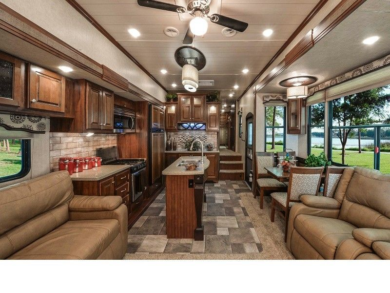 mega fifth wheels rv class A Interior - Recherche Google ...