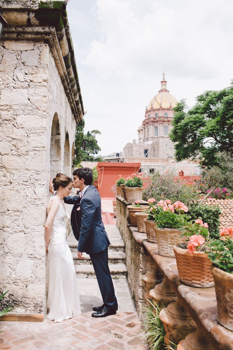 San Miguel De Allende Mexico Casa Hyder Wedding Is A Dream Venue Destination