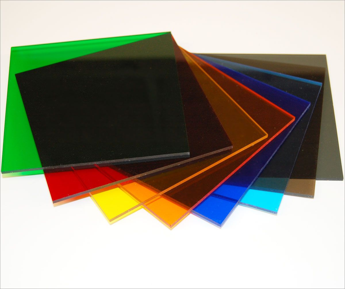 Colored cast acrylic sheet - Laser Cutting Tap Plastics Cast Acrylic Transparent Colors