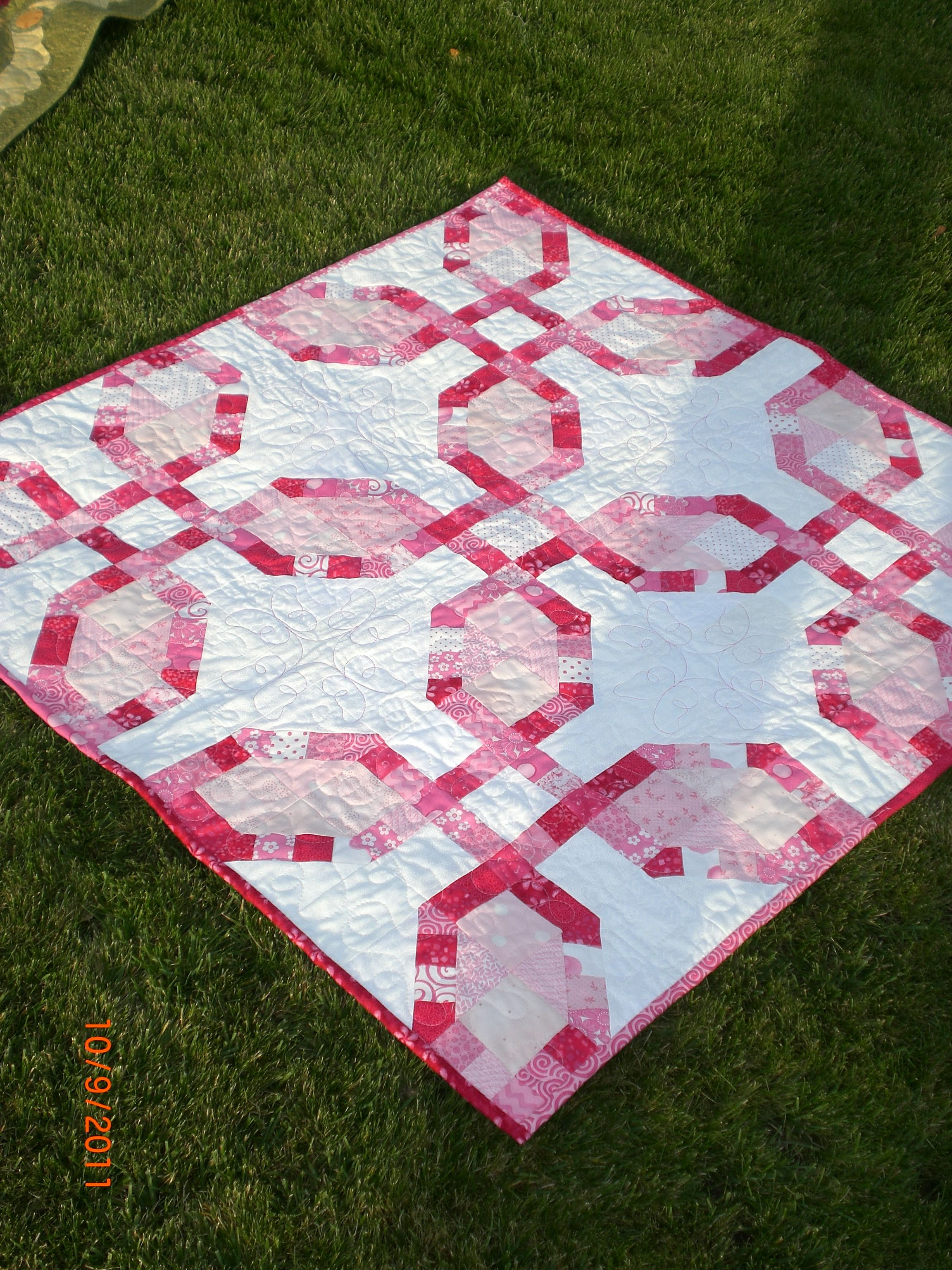 Pink baby scrap quilt for Charli fall 2011 | Quilting, Sewing ...