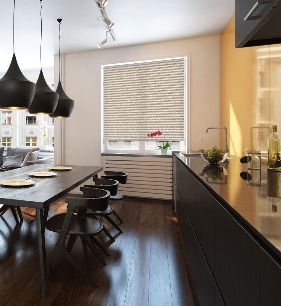Küchen Plissees von sensuna Fertigung nach Maß möglich