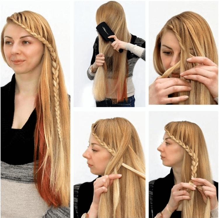 Frisuren Lange Haare Selber Machen Zopf Frisuren Lange Haare