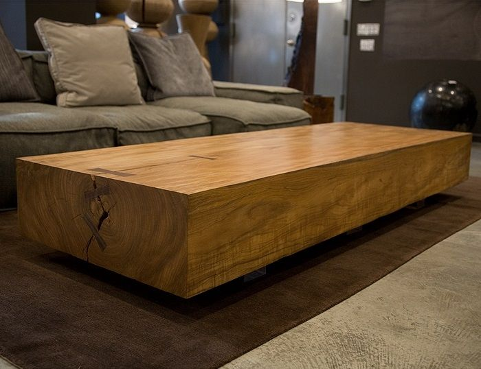 Coffee Tables Design, Contemporary Modern Large Wood ...