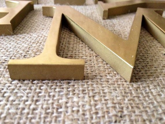 brass letters solid brass signage h y m t i by chattcatvintage signage pinterest signage. Black Bedroom Furniture Sets. Home Design Ideas