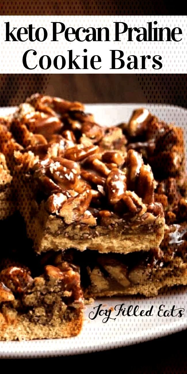 Pecan Praline Bars - Low Carb, Sugar Free, Grain Free, THM S -Keto Pecan Praline Bars - Low Carb, S
