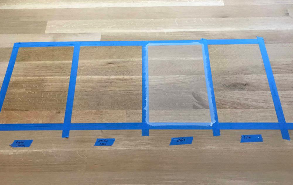 Natural Looking White Oak Floors