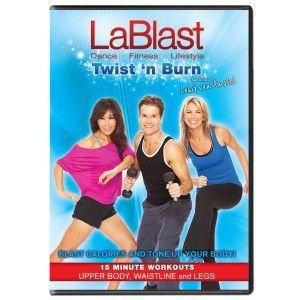 Lablast Dvd Twist N Burn 15 Minute Workout Dance Workout Workout