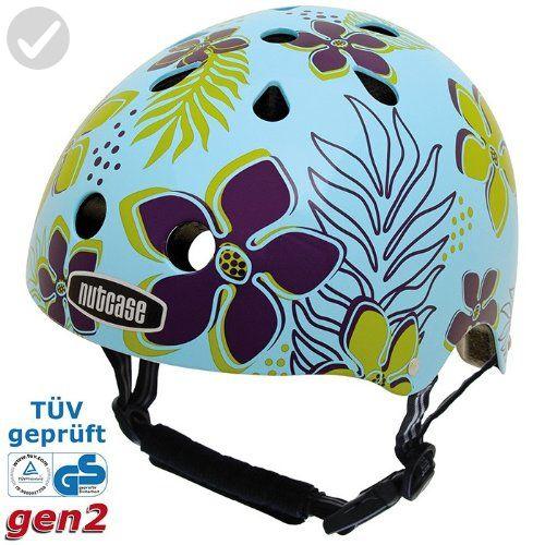 Nutcase Hula Street Helmet, Blue, Large/X-Large - For all the skaters (*Amazon Partner-Link)