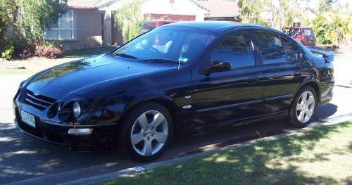 Ford Falcon Xr6 2001 Au2 Vct Tickford Xr6 5 Speed Tickford H