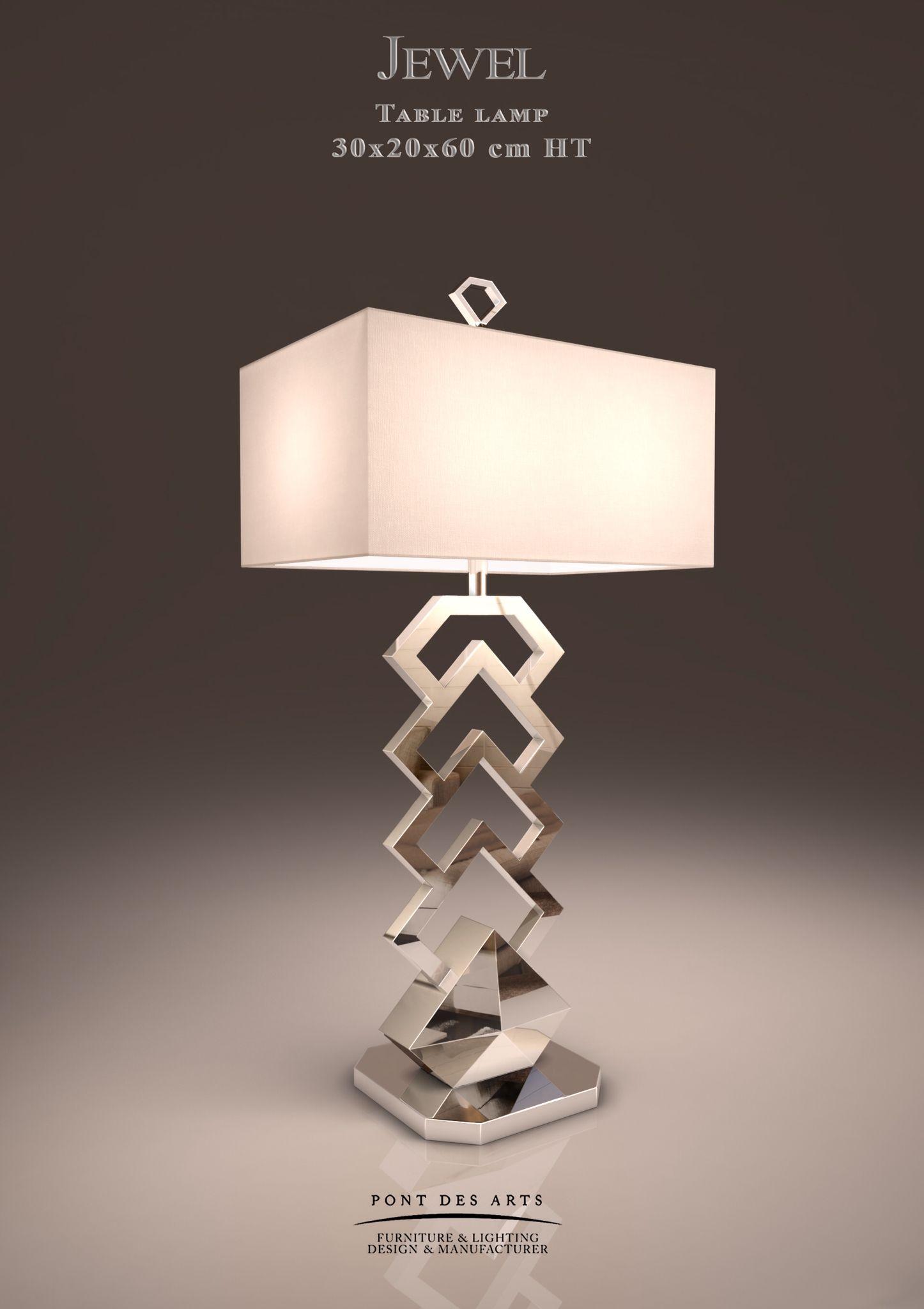 Jewel Table Lamp - Designer MONZER Hammoud - Pont des Arts ...