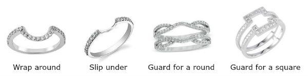 Awesome Wedding Bands That Fit With A Halo Engagement Ring