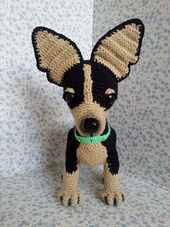 Chihuahua Amigurumi crochet dog toys for kids handmade   Crochet ...